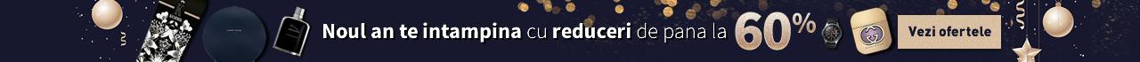 Noul an te intampina cu reduceri de pana la 60%. Vezi ofertele!