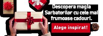 Descopera magia Sarbatorilor cu cele mai frumoasa cadouri. Alege inspirat!