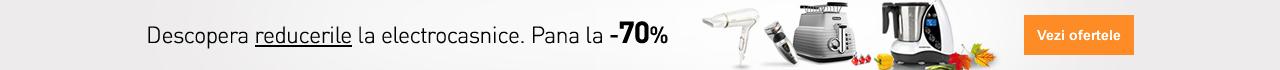 Reduceri de pana la 70% la electrocasnice. Descopera ofertele!