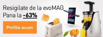 Pana la -63% la resigilatele de la magazinul evoMAG