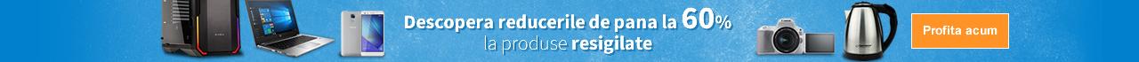 Descopera reducerile de pana la 60% la produse resigilate. Cumpara avantajos!