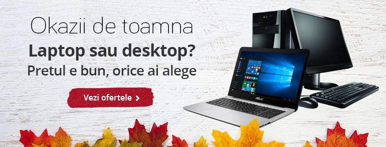 Laptop sau desktop?