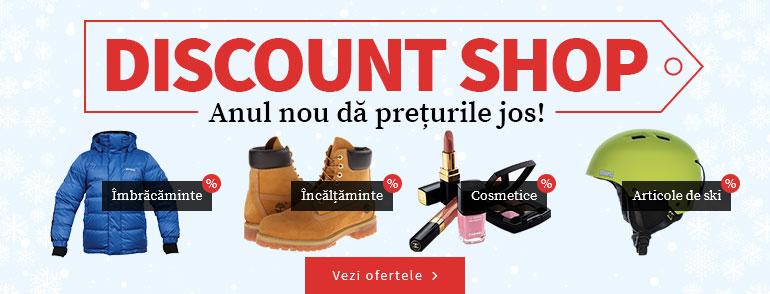 Discount Shop. Anul nou da preturile jos!