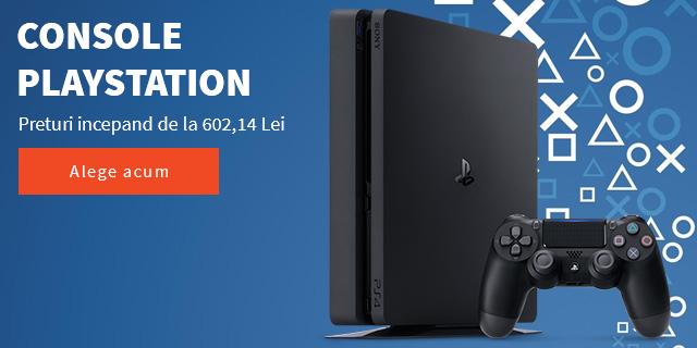 Console PlayStation - preturi incepand de la 602,14 Lei