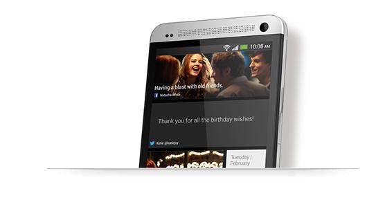HTC One BlinkFeed