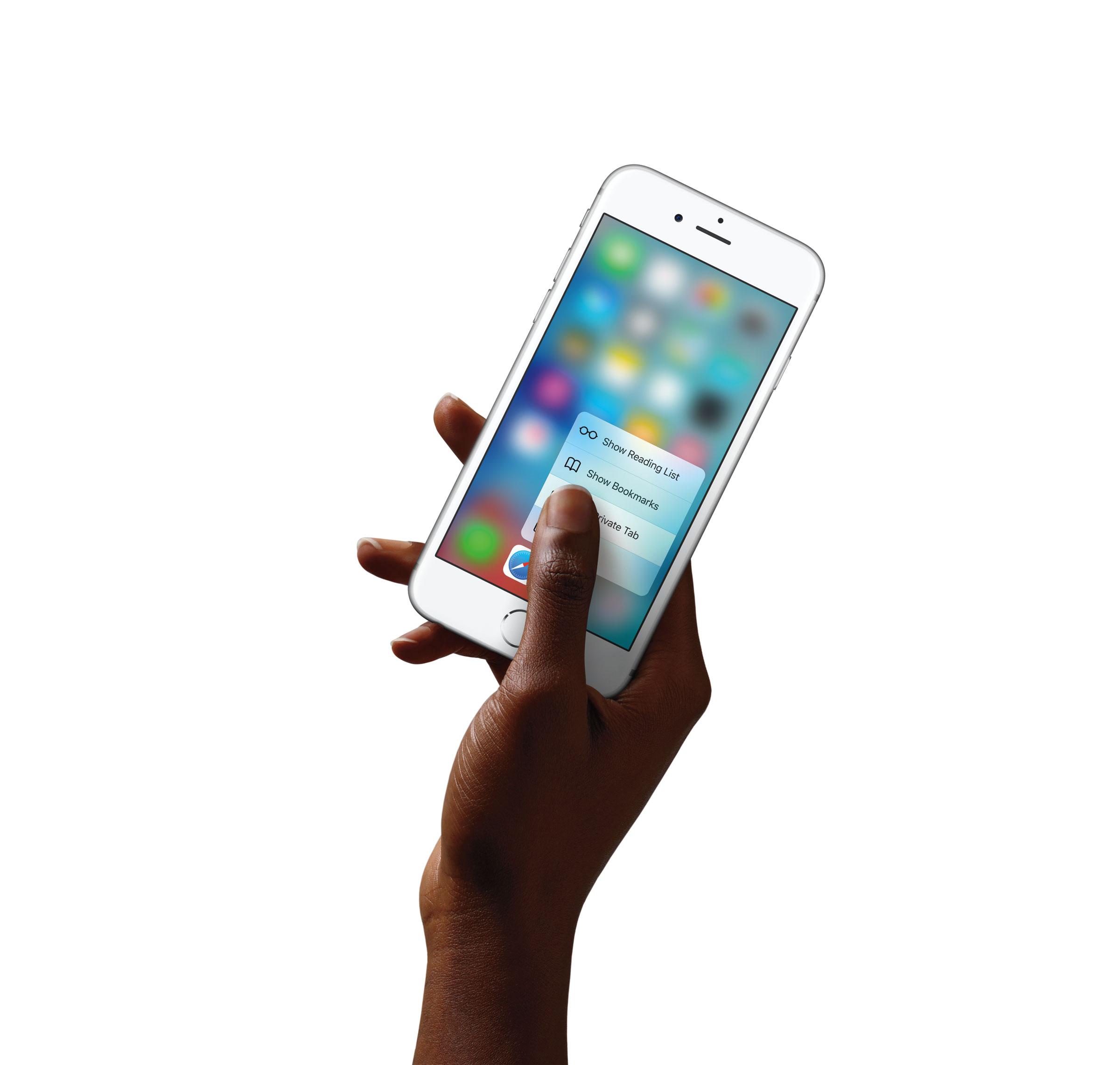 Reachability iPhone 6s